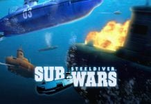 Steel Diver. Sub Wars (3ds) Review 5