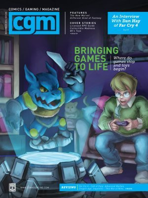 December 2014 Issue - Bringing Games To Life - 49237