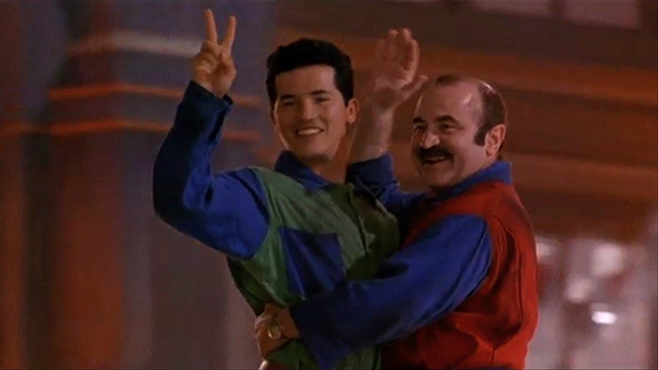 Super Mario Bros. movie circa 1993