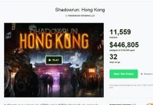 Shadowrun: Hong Kong Kickstarter Already Funded - 49709