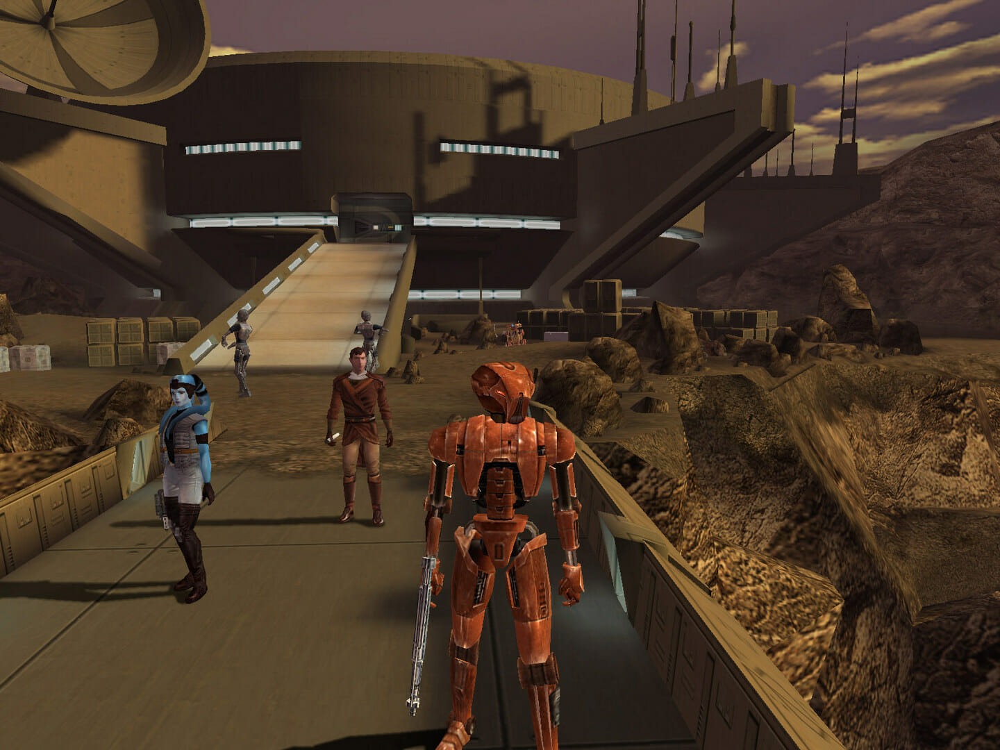 KOTOR is, after all, a sixth generation console title