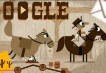 Deliver Mail on Ponies in Today's Google Doodle. - 2015-04-14 15:48:32