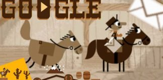 Deliver Mail on Ponies in Today's Google Doodle.
