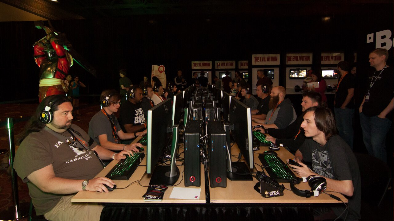 "QuakeCon 2014 Day 3 by Photo by Larry ""Neocane"" Gipson"