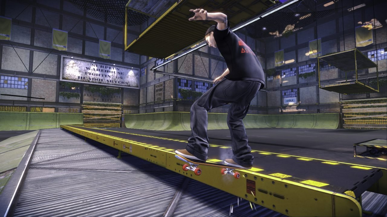 THPS5_AYC Warehouse_Jaws_Tailslide