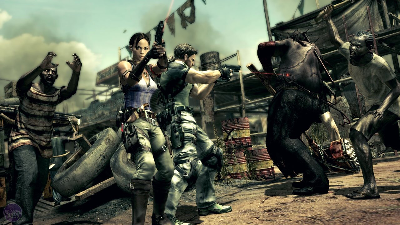Zombies and Gore: A Brief History of Resident Evil 5