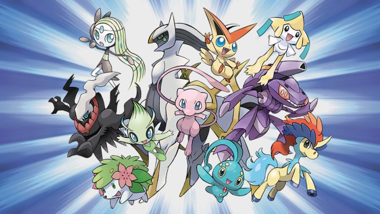 Pokémon Distributing Mythical 'Mons for 20th Anniversary 1