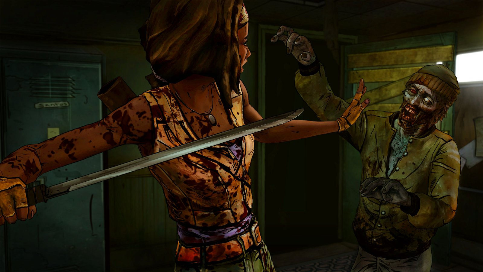The Walking Dead: Michonne - Ep 1: In Too Deep (PS4) Review 5
