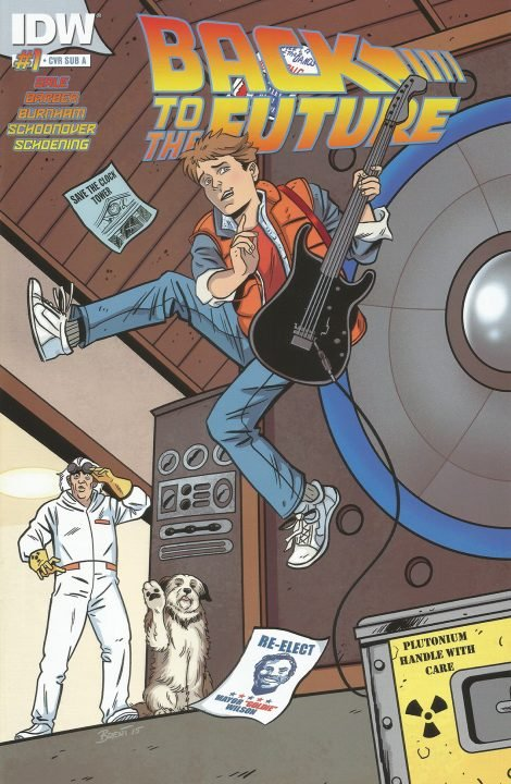 Back to the Future (Comic) Review 4