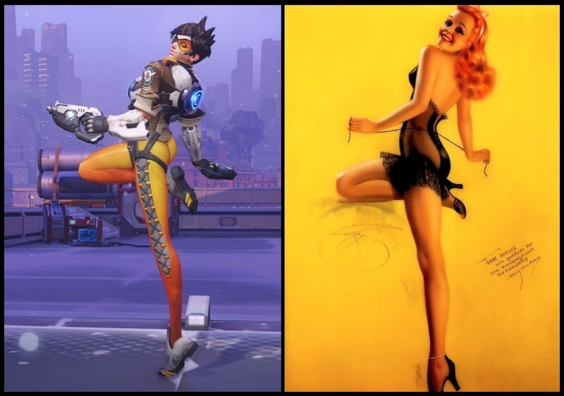 Blizzard Patches Tracer's Suggestive Pose 1