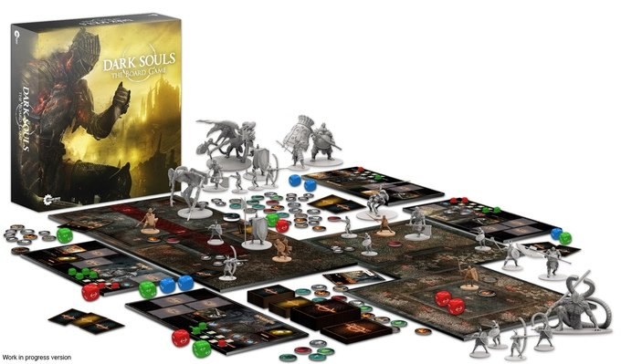 Dark Souls Board Game Kickstarter Launches