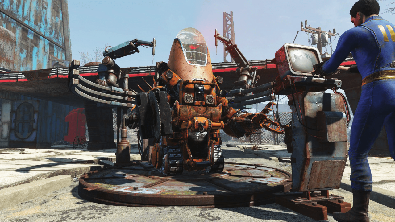 Fallout 4: Automatron (PS4) Review 1