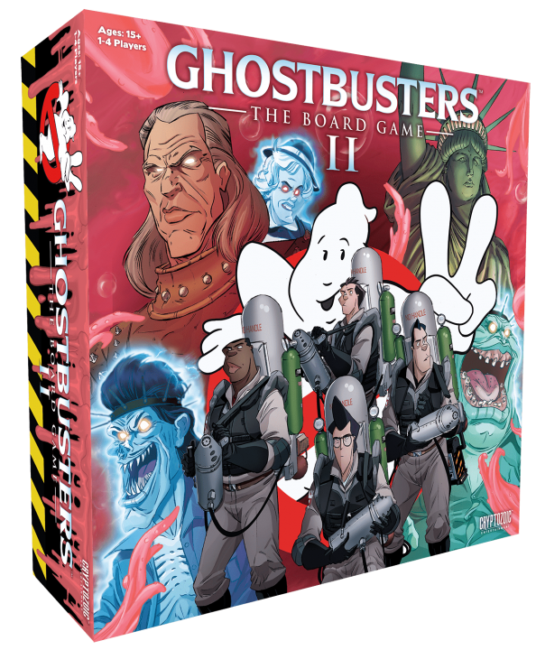 Ghostbusters: the Board Game II Launches on Kickstarter 1