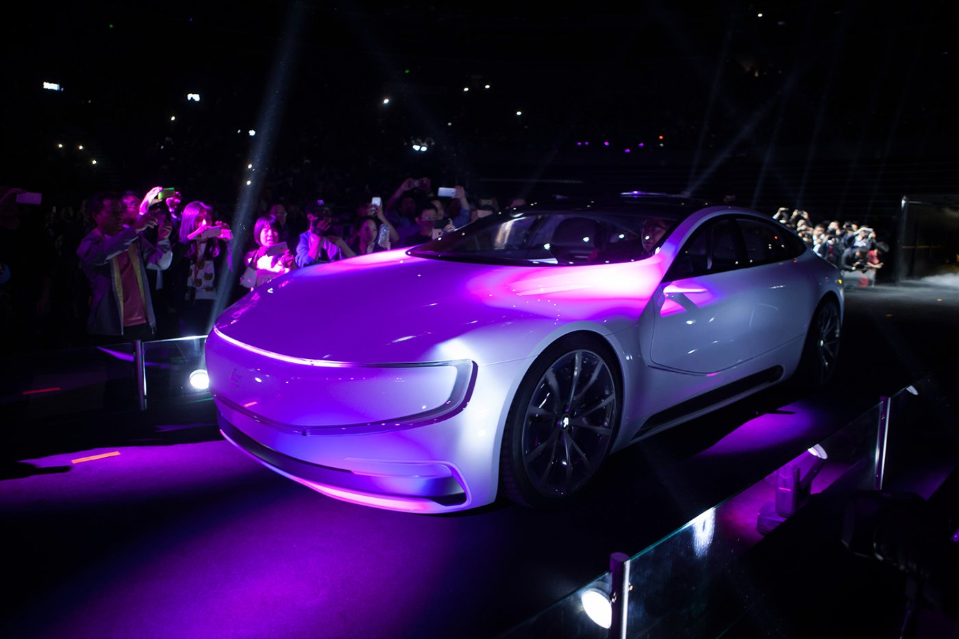 LeEco Reveals Smartphone Controlled Electric Car 2