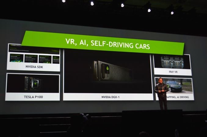 NVIDIA Keynote focused on developing VR programs and AI GPUs