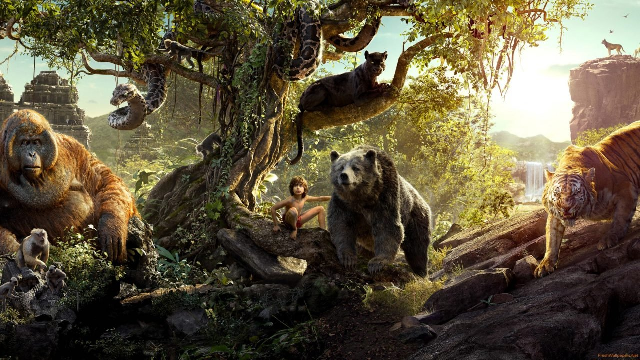 The Jungle Book (Movie) Review