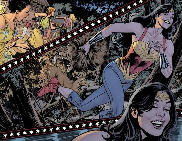 Wonder Woman: Earth One (Graphic Novel) Review 1
