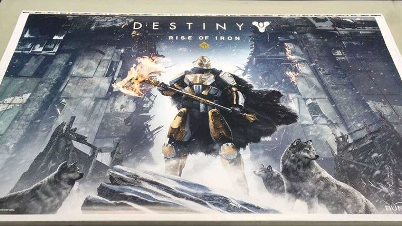 Leaked Poster Reveals Destiny Rise of Iron Expansion