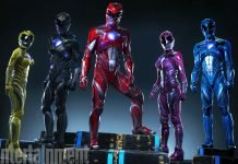 New Power Rangers Suits Revealed