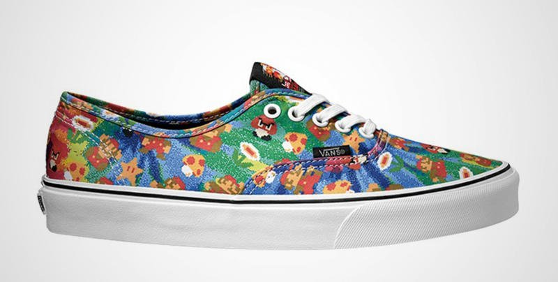 Nintendo and Vans Team Up For Shoe Line 10