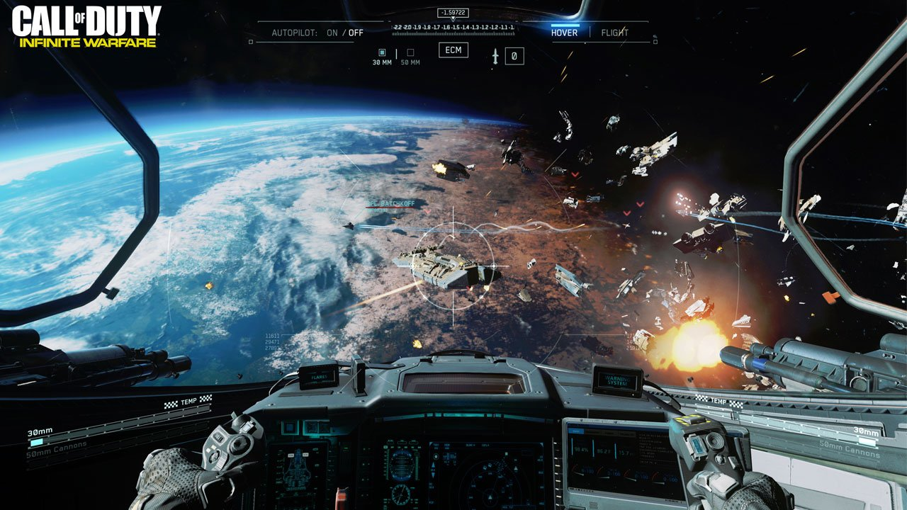 Call Of Duty Will Take The Fight To Space