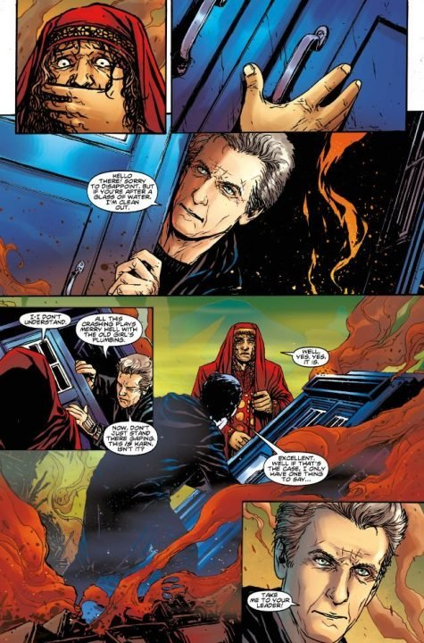 Doctor Who: Supremacy of the Cybermen (Comic) Review 3