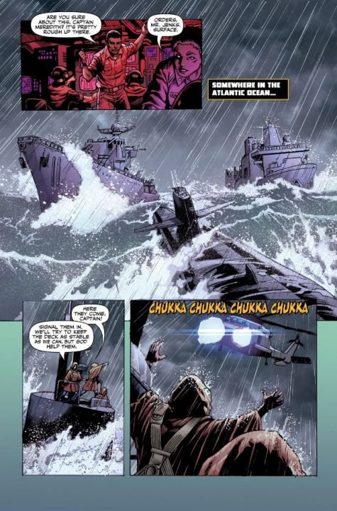 Independence Day: Dark Fathom (Comic) review 2