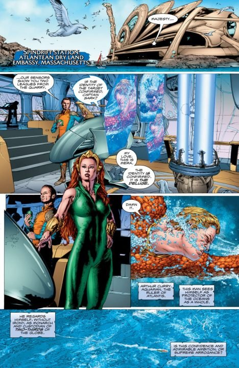 Aquaman Rebirth #1 (Comic) Review