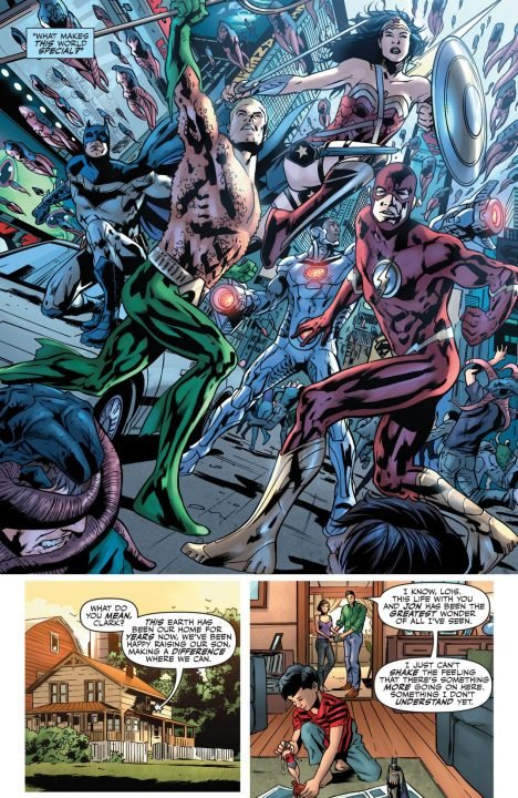 Justice League Rebirth #1 (Comic) Review 3
