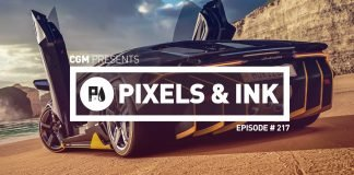 Pixels & Ink #217 - Self Promotions Much