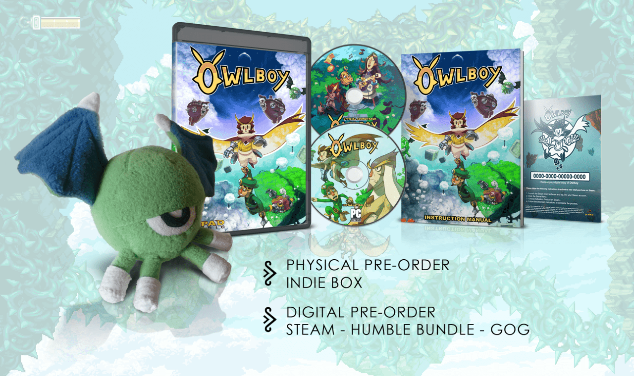 Pre-Orders Open for Owlboy After Nine Years of Development
