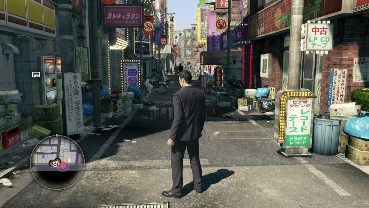 Preview: Helping A Street Performer Use the Bathroom in Yakuza Zero 1