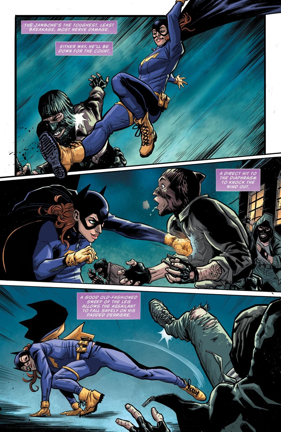 Batgirl and the Birds of Prey Rebirth #1 Review
