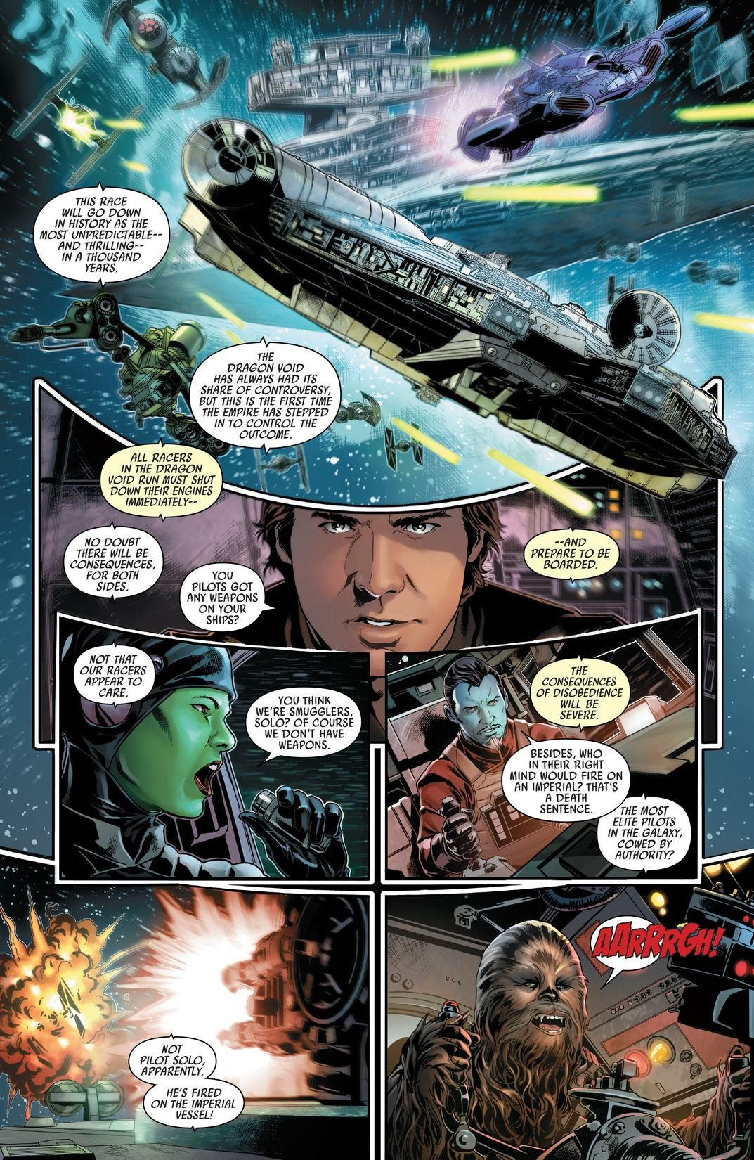 Han Solo #1-5 (Comic) Review 3