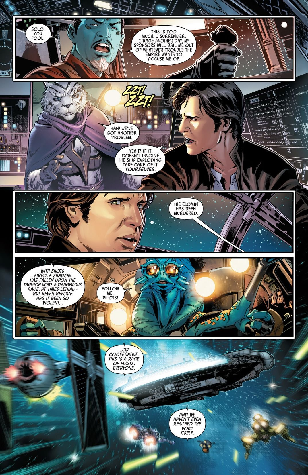 Han Solo #1-5 (Comic) Review 5