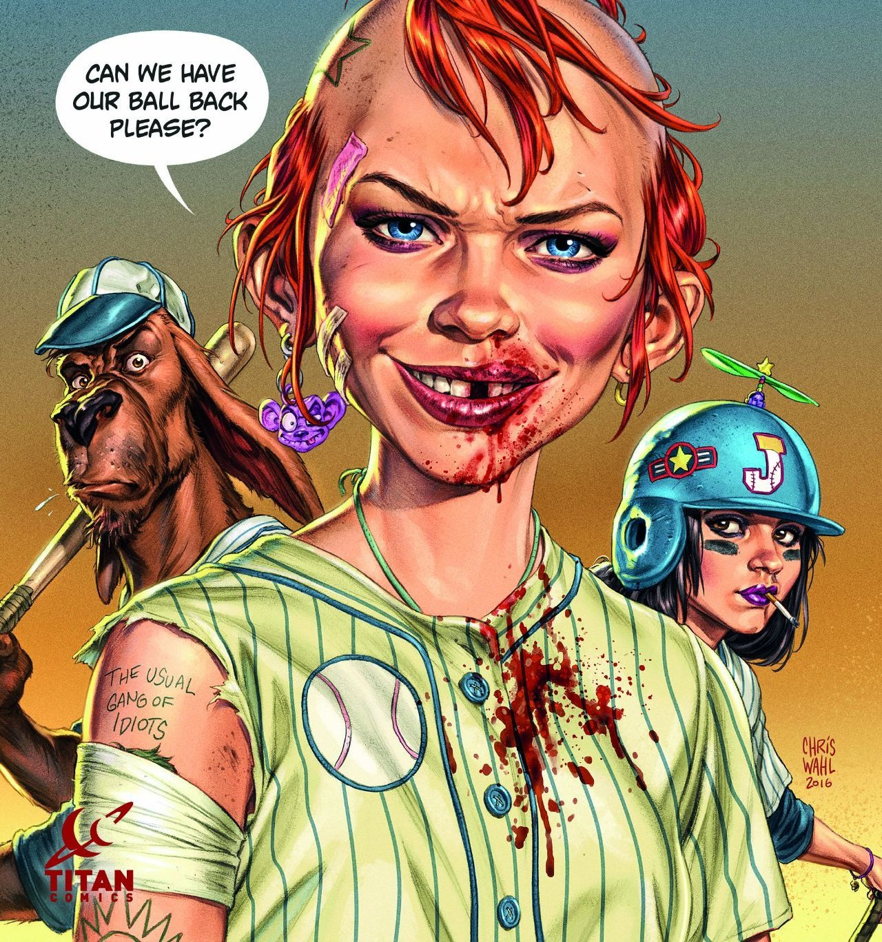Tank Girl Gold #1 Furry Road (Comic) Review 2