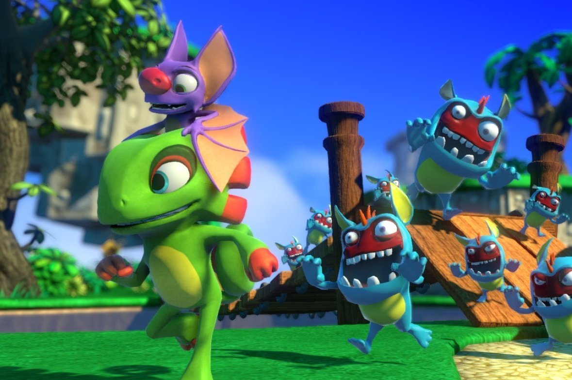Yooka-Laylee Preview: Making Up For Lost Time 1
