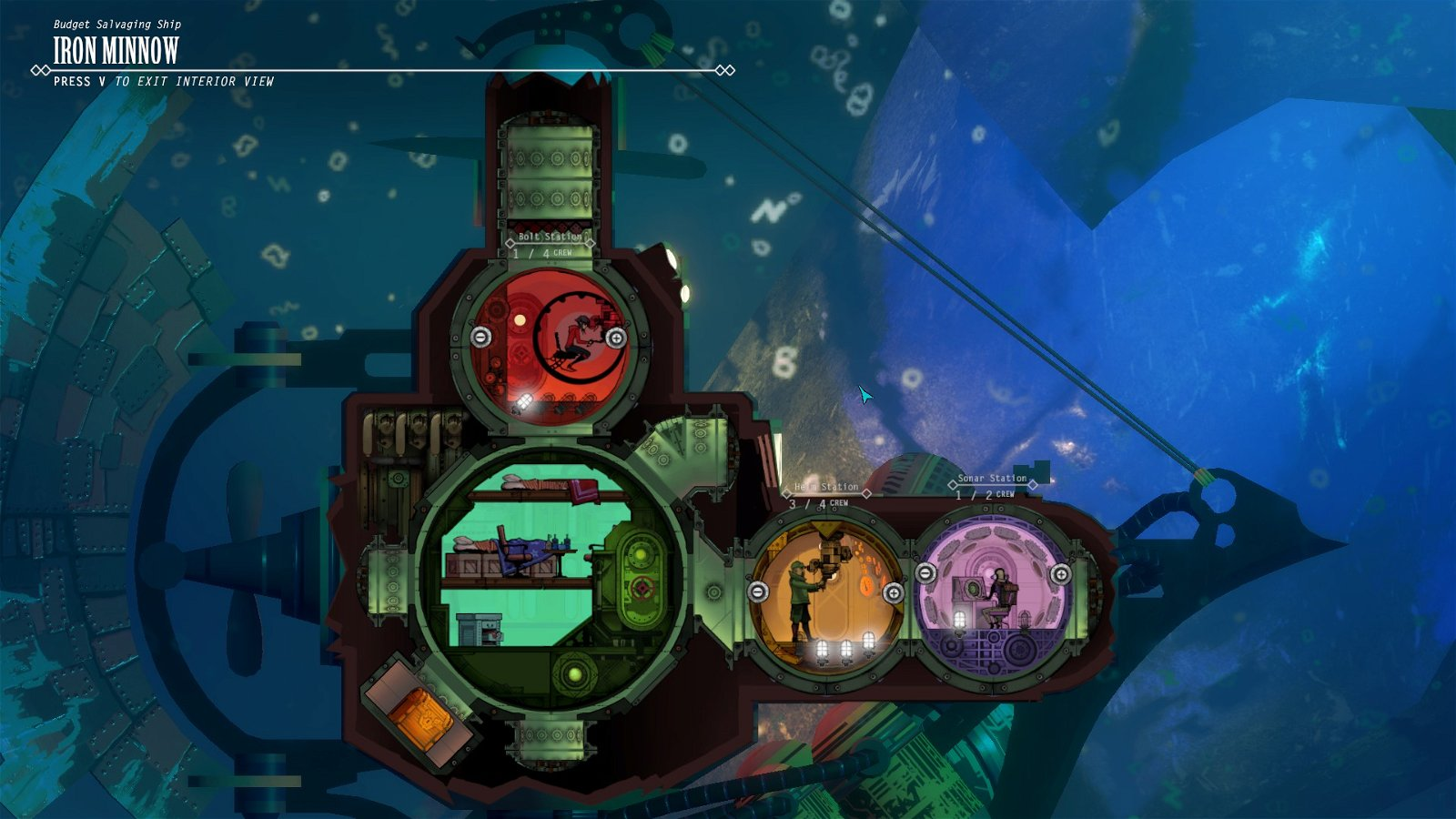 Diluvion Review - Dark Souls Underwater 2