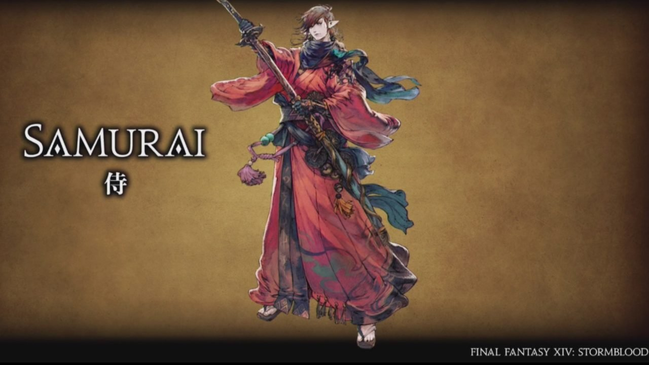 Final Fantasy XIV: Stormblood to add Samurai class