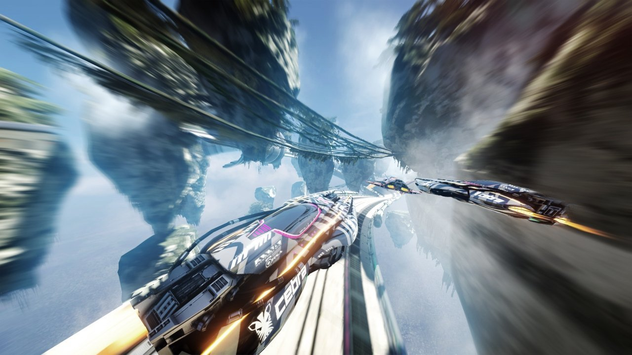Fast RMX Switch Review - One Part Wipeout One Part F-Zero 2