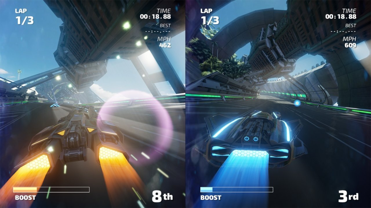 Fast RMX Switch Review - One Part Wipeout One Part F-Zero 4