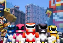 Minecraft and Power Rangers Team up With New DLC 1