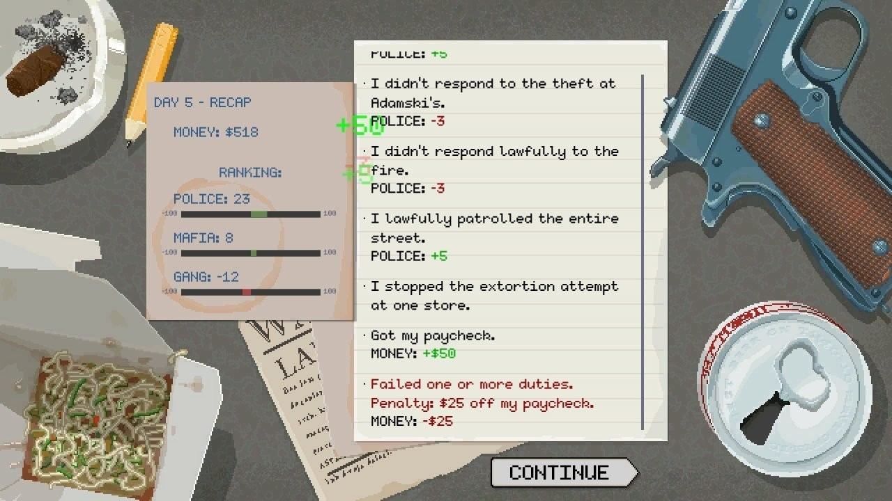Beat Cop Review -  Miami Vice Meets Papers, Please 4