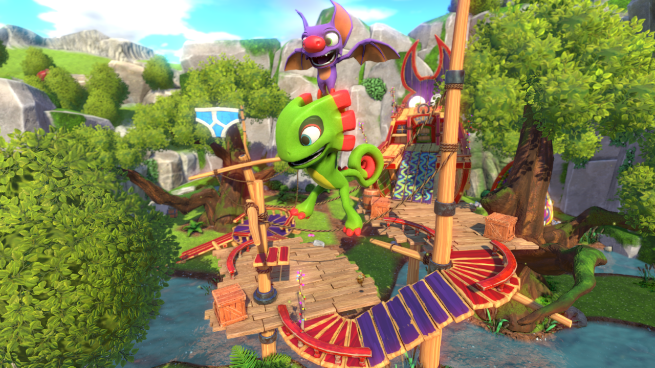Yooka-Laylee Review - Turning the Page