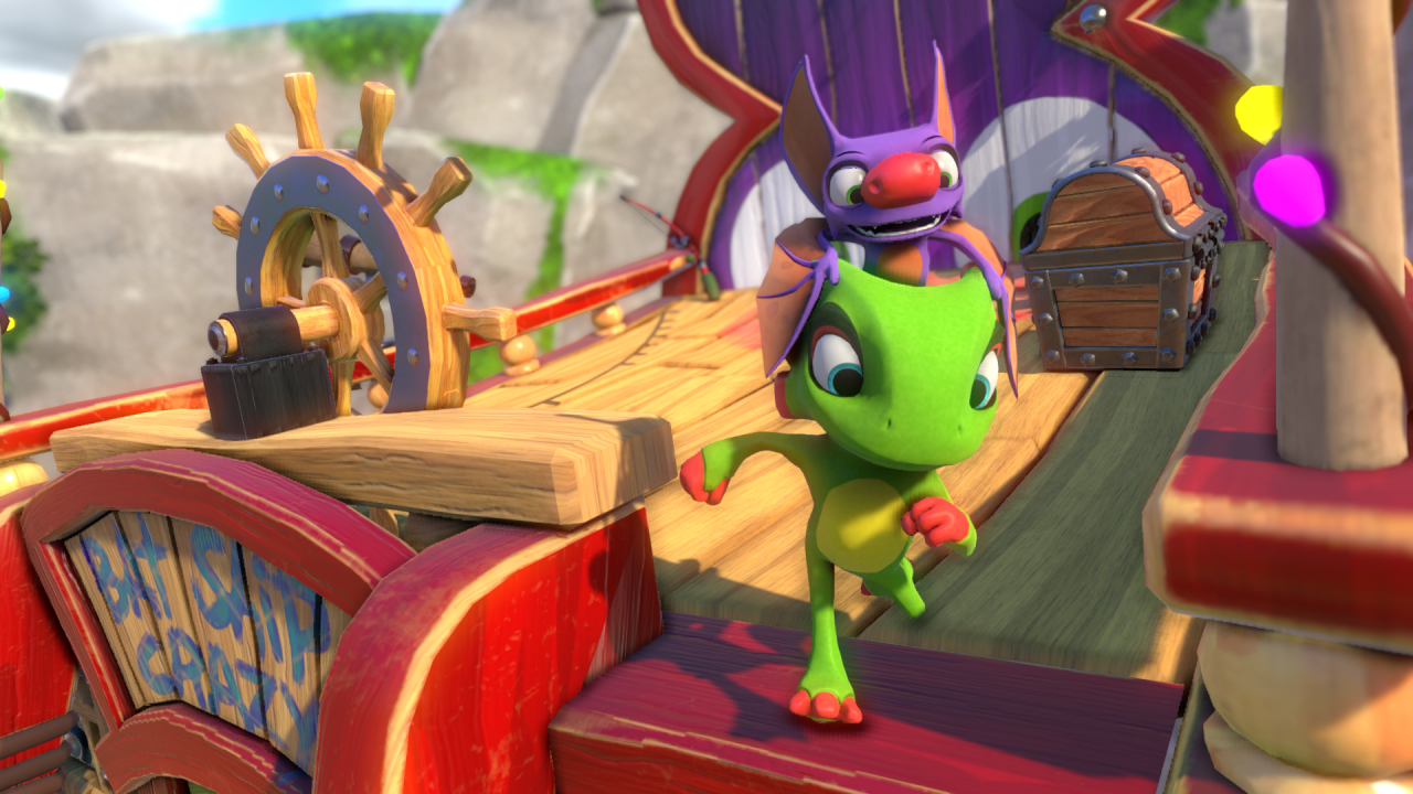 Yooka-Laylee Review - Turning the Page 1