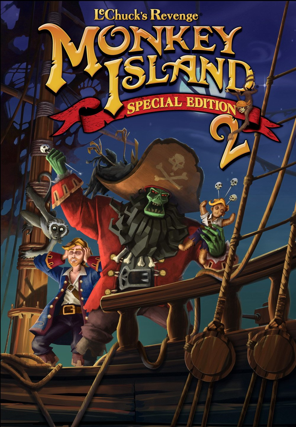 Monkey Island 2 Special Edition: LeChuck's Revenge (XBOX 360) Review 3