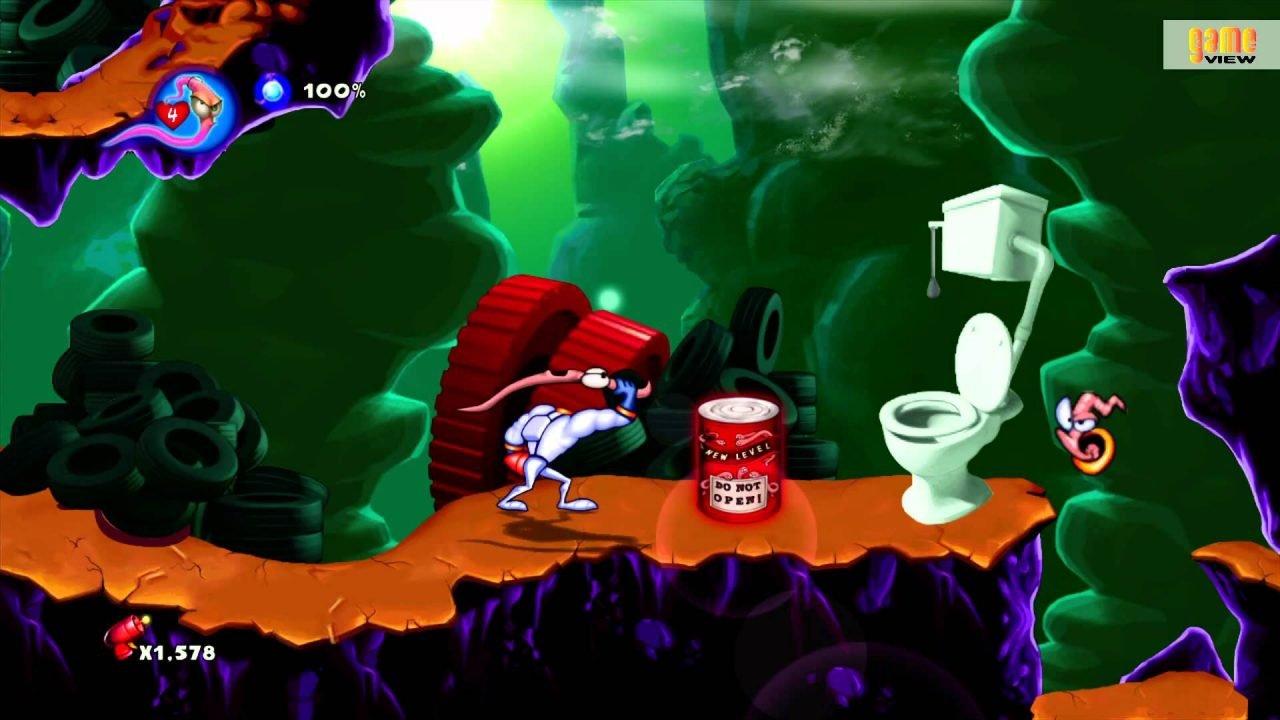 Earthworm Jim Hd (Xbox 360) Review 3