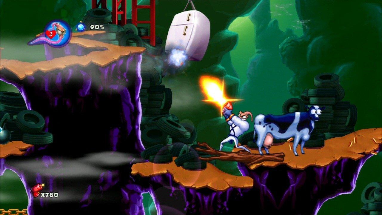 Earthworm Jim Hd (Xbox 360) Review 4