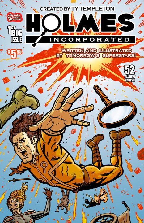 Holmes Incorporated Issue 1 Review 2