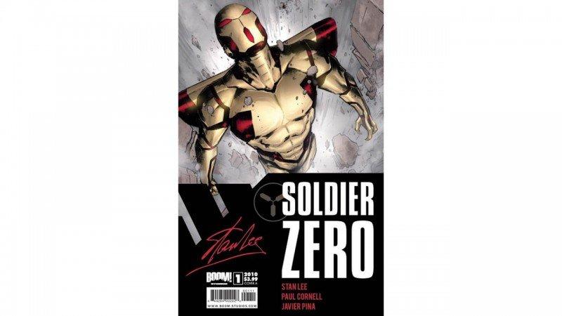 Stan Lee's Solider Zero #1 Review